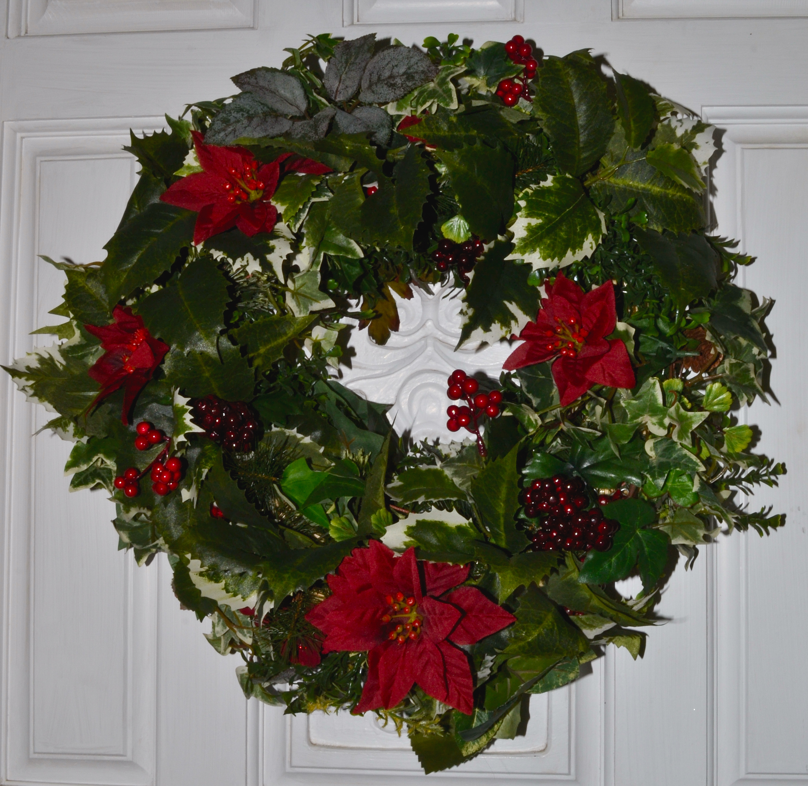 How to make a wreath funtastic unit studies home Simple christmas wreaths